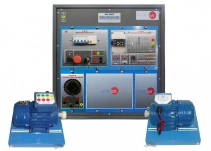 ELECTRICAL MACHINES CONTROL THROUGH FREQUENCY CONTROLLER APPLICATION - AEL-EMCF
