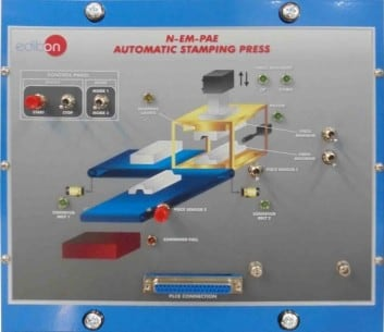AUTOMATIC STAMPING PRESS  - N-EM-PAE