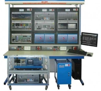 WIND POWER PLANTS WITH DOUBLE FEED INDUCTION GENERATOR APPLICATION - AEL-WPP