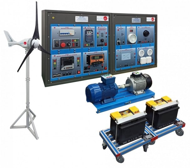 WIND POWER APPLICATION WITH PERMANENT MAGNETS SYNCHRONOUS GENERATOR - AEL-WPT