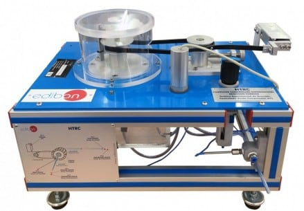COMPUTER CONTROLLED EXPERIMENTAL REACTION TURBINE - HTRC
