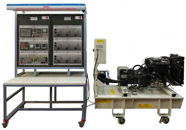 COMPUTER CONTROLLED DIESEL ENGINE ELECTRICAL GENERATOR APPLICATION - TDEGC