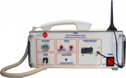 COMPUTER CONTROLLED GSM COMMUNICATIONS UNIT - ETM