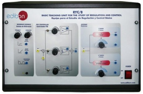 BASIC TEACHING UNIT FOR THE STUDY OF REGULATION AND CONTROL - RYC/B