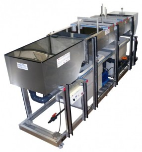 MOBILE BED AND FLOW VISUALIZATION UNIT (WORKING SECTION: 2000X610 MM) - HVFLM-2