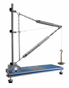 UNIT FOR STUDYING FORCES IN A JIB CRANE - MFPG
