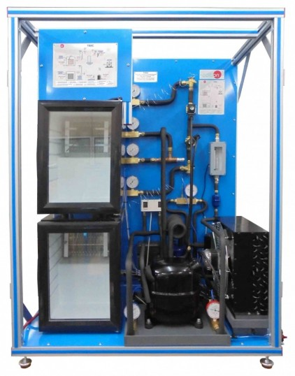 COMPUTER CONTROLLED REFRIGERATION UNIT WITH REFRIGERATION AND FREEZING CHAMBER - TRRC