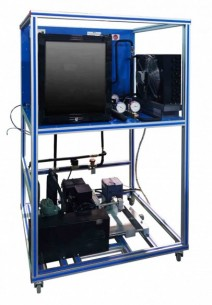 COMPUTER CONTROLLED REFRIGERATION UNIT WITH OPEN COMPRESSOR - TRCC