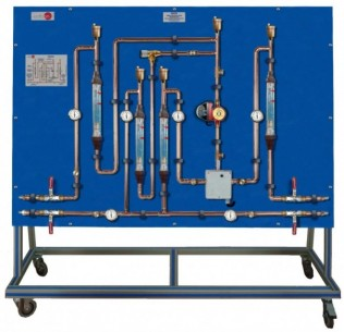 THREE-WAY MIXING VALVE TRAINING UNIT - TEV3V