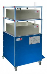 COMPUTER CONTROLLED UNIT FOR TRANSIENT DRAINAGE PROCESSES IN STORAGE RESERVOIRS - PDDRC