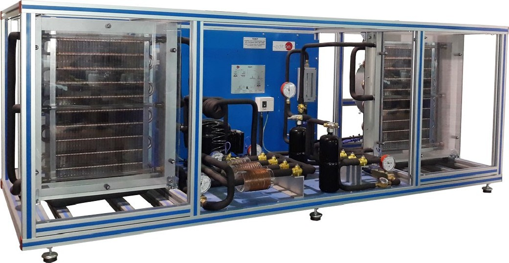 REFRIGERATION UNIT WITH DIFFERENT CAPILLARY TUBES - TCRCT