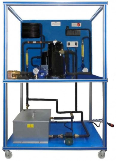 HEAT EXCHANGERS IN THE REFRIGERATION UNIT - THER
