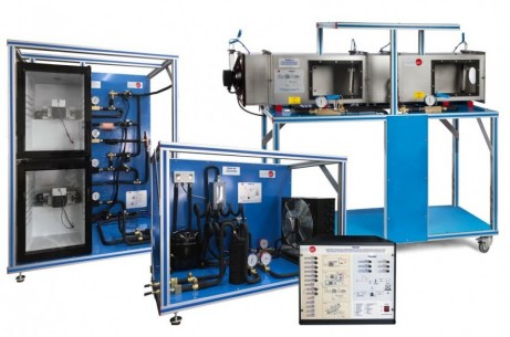 COMPUTER CONTROLLED REFRIGERATION AND AIR CONDITIONING MODULAR UNIT - TRAMC