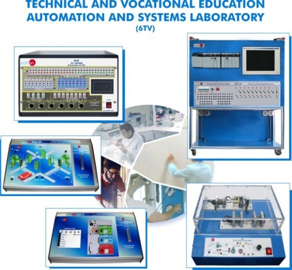 MECHATRONICS AND AUTOMATION LABORATORY FOR TECHNICAL AND VOCATIONAL EDUCATION - 6TV