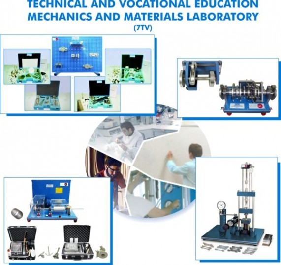 MECHANICAL, AUTOMOTIVE AND MATERIALS LABORATORY FOR TECHNICAL AND VOCATIONAL EDUCATION - 7TV