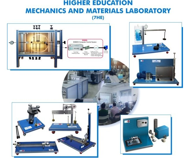 MECHANICS, AUTOMOTIVE AND MATERIALS LABORATORY FOR HIGHER EDUCATION - 7HE