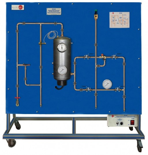 PRESSURE VESSEL AND SAFETY FEATURES TRAINING UNIT - TPVST