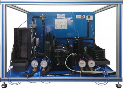 COMPUTER CONTROLLED REFRIGERATION CONTROL UNIT WITH SEVERAL COMPRESSORS - THALAC/1