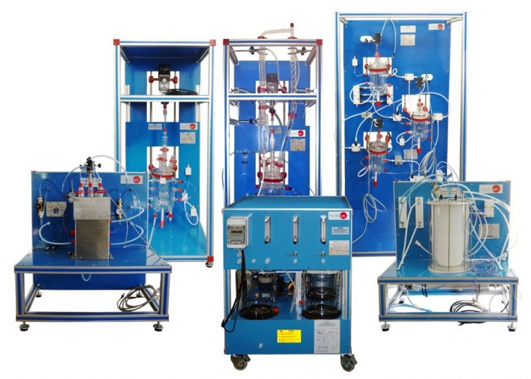 COMPUTER CONTROLLED CHEMICAL REACTORS TRAINING SYSTEM - QRQC