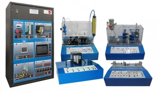 MODULAR SYSTEM FOR THE STUDY OF SENSORS WITH PLC CONTROL - BS-PLC