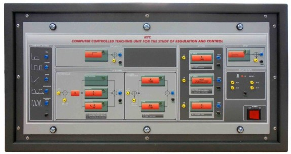 COMPUTER CONTROLLED TEACHING UNIT FOR THE STUDY OF REGULATION AND CONTROL - RYC