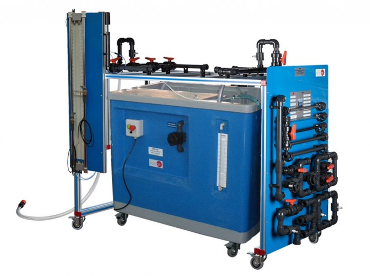 COMPUTER CONTROLLED PIPE NETWORK UNIT, WITH HYDRAULICS BENCH (FME00) - AMTC