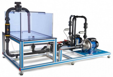 COMPUTER CONTROLLED SERIES/PARALLEL PUMPS BENCH - PBSPC