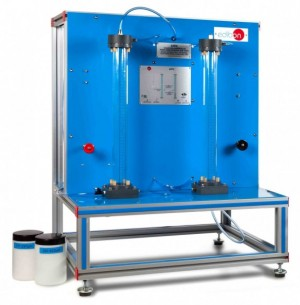 COMPUTER CONTROLLED FIXED AND FLUIDIZED BED UNIT - LFFC
