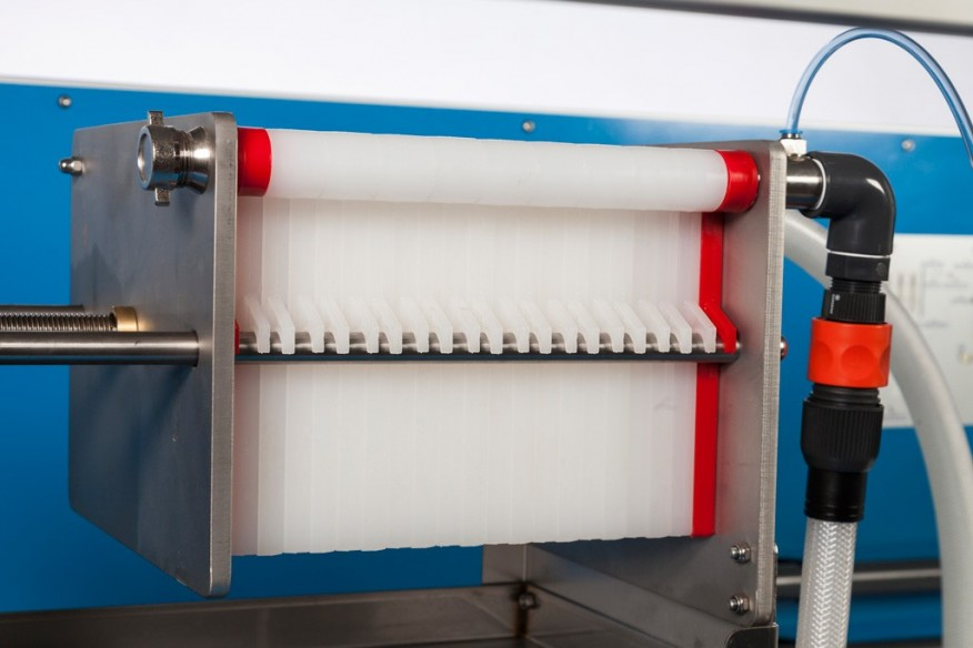 COMPUTER CONTROLLED PLATE AND FRAME FILTER PRESS - AFPMC