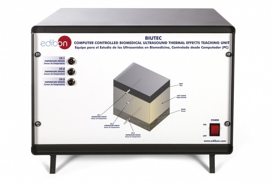 COMPUTER CONTROLLED BIOMEDICAL ULTRASOUND THERMAL EFFECTS TEACHING UNIT - BIUTEC
