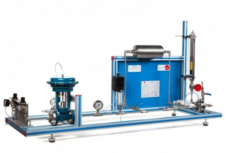 COMPUTER CONTROLLED PROCESS CONTROL UNIT FOR THE STUDY OF PRESSURE (AIR) - UCP-P