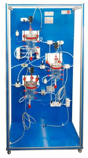 REACTORS WITH STIRRER IN SERIES - QRSA