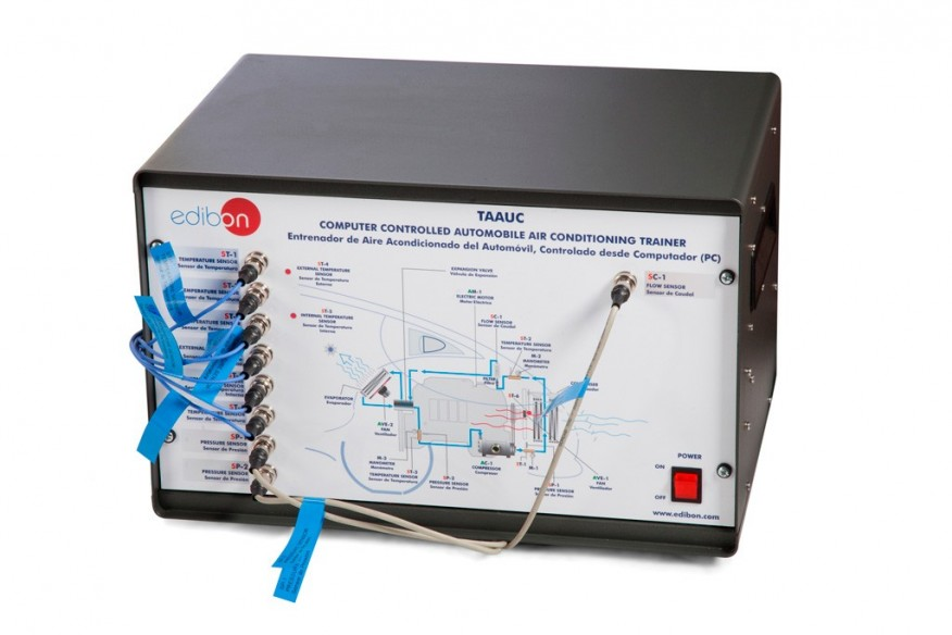 COMPUTER CONTROLLED AUTOMOBILE AIR CONDITIONING UNIT - TAAUC