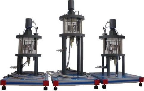 COMPUTER CONTROLLED STIRRED TANK REACTORS IN SERIES FOR QRC - QRSC