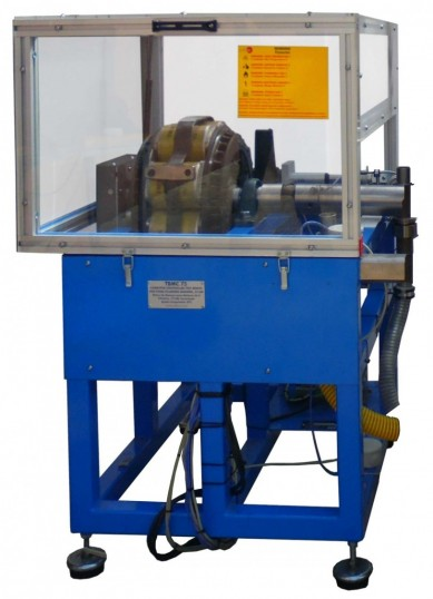 COMPUTER CONTROLLED TEST BENCH FOR FOUR-CYLINDERS ENGINES, 75 KW - TBMC75