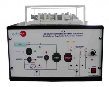 COMPUTER CONTROLLED GENERATING STATIONS CONTROL AND REGULATION SIMULATOR - SCE