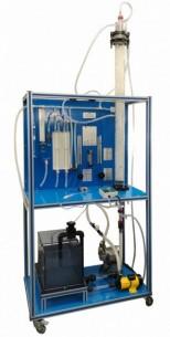 COMPUTER CONTROLLED GAS ABSORPTION COLUMN - CAGC