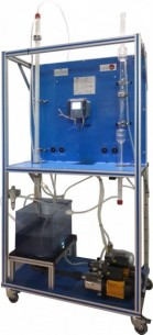 COMPUTER CONTROLLED WETTED WALL GAS ABSORPTION COLUMN - CAPC