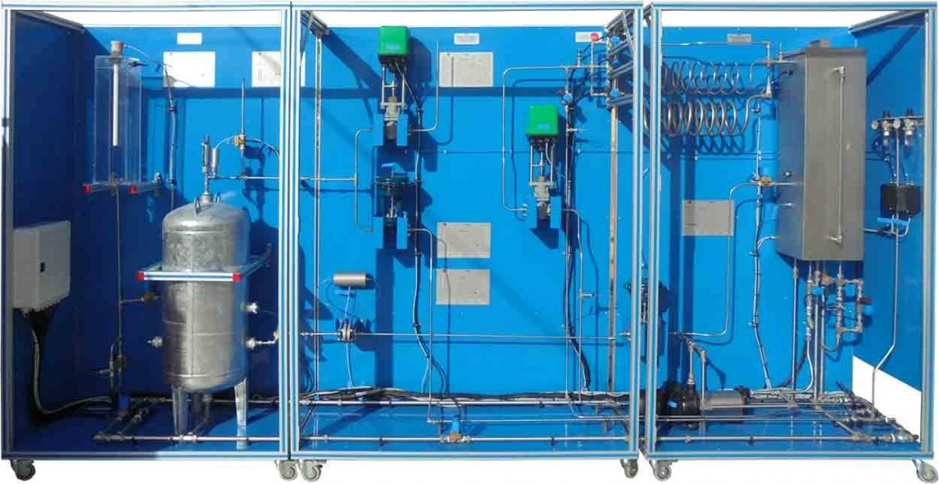 COMPUTER CONTROLLED INDUSTRIAL PROCESS CONTROL PLANT (ONLY FLOW) - CPIC-C