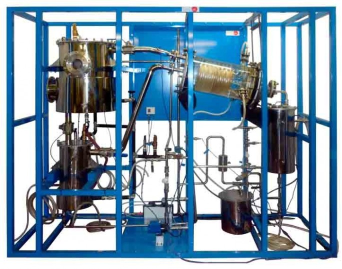 COMPUTER CONTROLLED BATCH SOLVENT EXTRACTION AND DESOLVENTISING UNIT - QEDC
