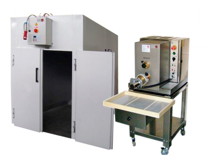 PILOT PLANT FOR THE PRODUCTION OF PASTA - CE00/P