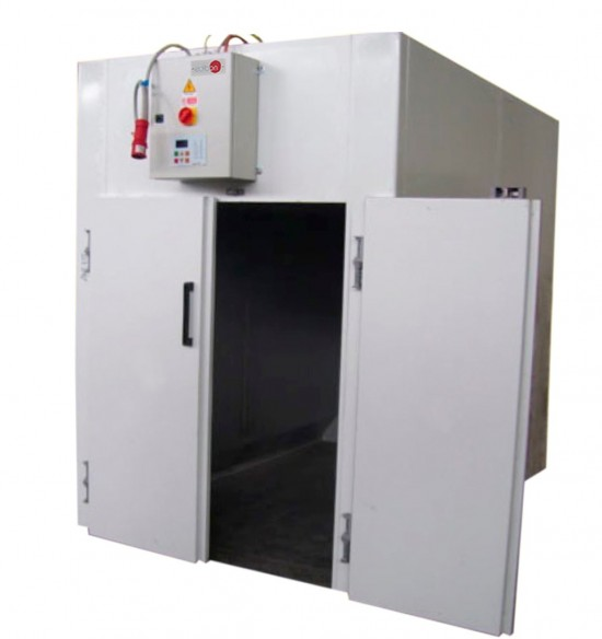 COMPUTER CONTROLLED AND TOUCH SCREEN STATIC DRYING UNIT - SPD/CTS