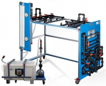PIPE NETWORK UNIT, WITH HYDRAULICS BENCH (FME00/B) - AMT/B