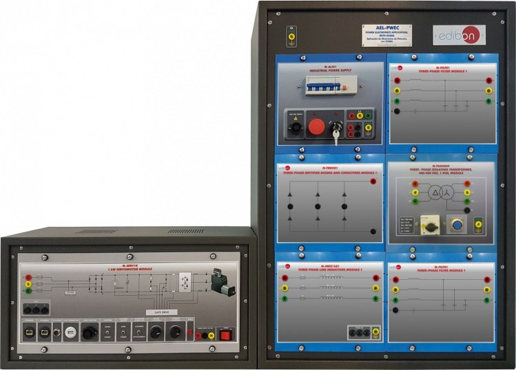 POWER ELECTRONICS APPLICATION, WITH SCADA - AEL-PWEC