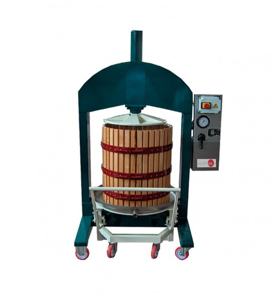 TWO TANKS FOR MACERATION, VATTING AND FERMENTATION OF WINE - TMVF