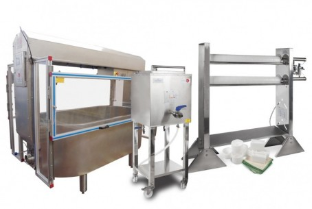 PILOT PLANT FOR THE PRODUCTION OF CHEESE AND COTTAGE - LE00/CC