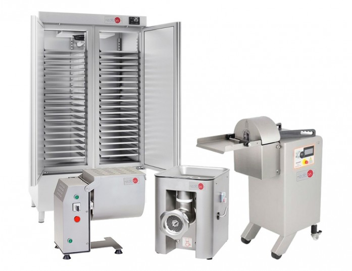 PILOT PLANT FOR THE PRODUCTION OF CURED PIECES AND SAUSAGES - CA00/CUPS