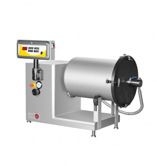 COMPUTER CONTROLLED AND TOUCH SCREEN MACERATION DRUM WITH VACUUM SYSTEM - MDV/CTS