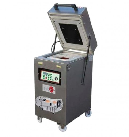 COMPUTER CONTROLLED AND TOUCH SCREEN THERMOSEALING MACHINE WITH INERT GAS INJECTION - TIGI/CTS