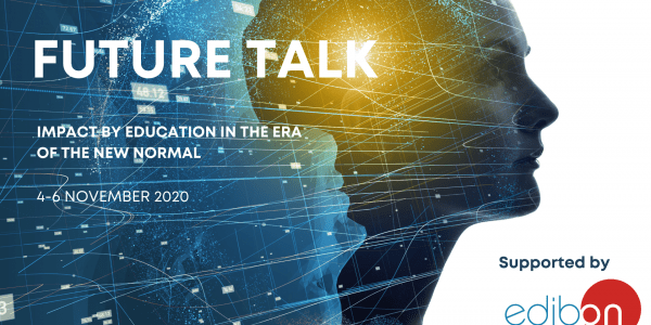 Edibon supports Future Talk 2020